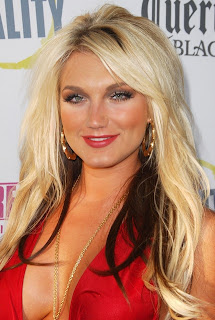 Brooke Hogan Long Blonde Hairstyles