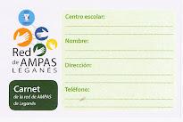 Pertenecemos a la Red de AMPAS de Leganés