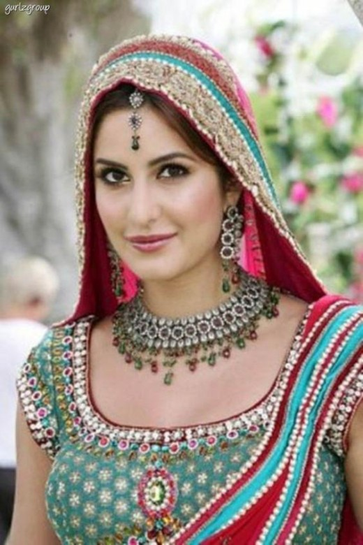 Katrina Kaif Wedding Dress