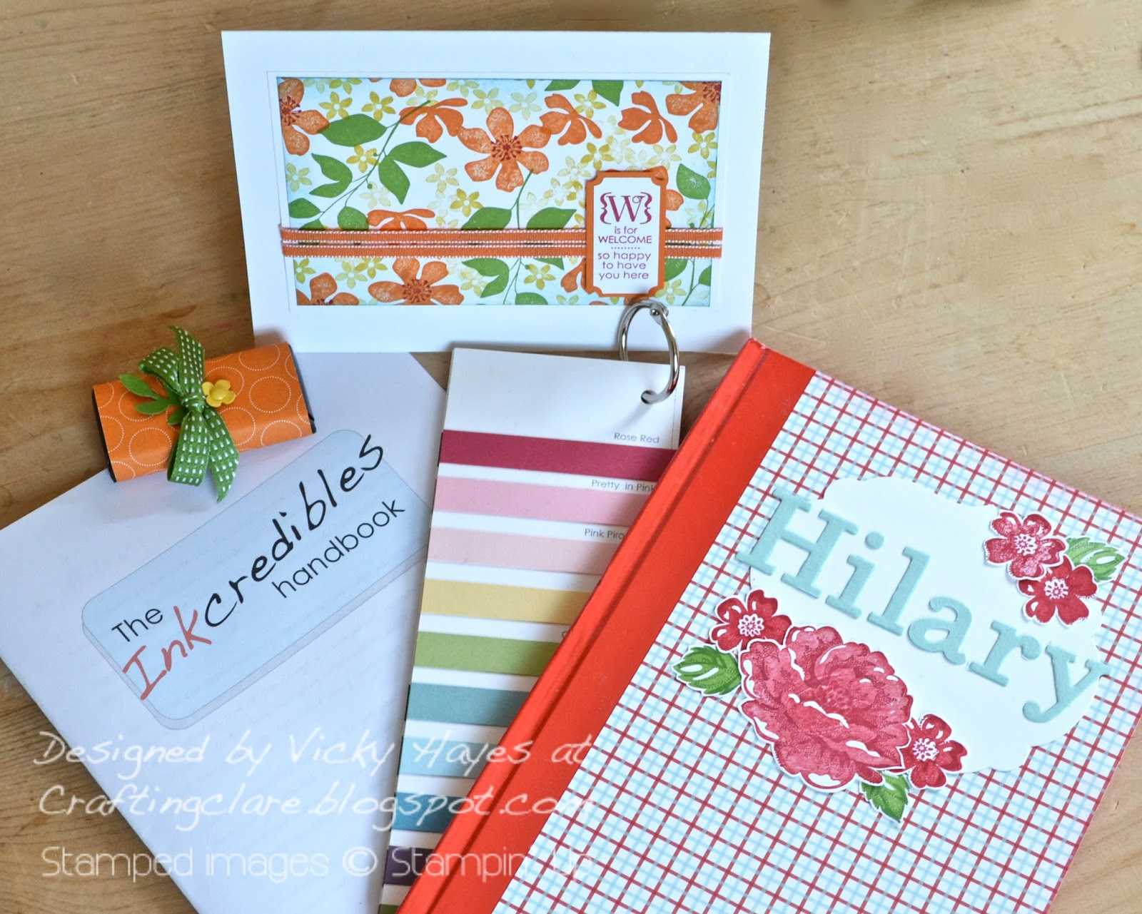 Vicky from Crafting Clares Paper Moments welcomes you to her Stampin Up team