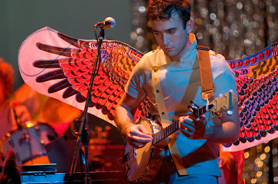 Sufjan Stevens with Butterfly Wings