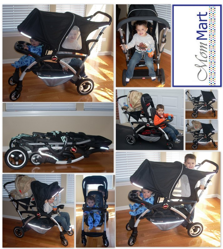 Mom Mart A Stroller With Options The Joovy Ergo Caboose Product Review