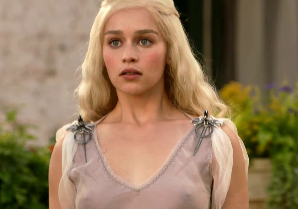 Emilia Clarke Talks Big Tits & Boobies Game of Thrones Season 7