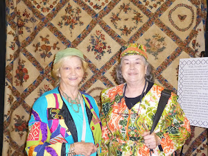 Pat and Carole at the Paducah Quilt Show