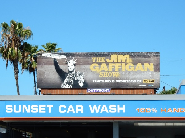 Jim Gaffigan Show season 1 billboard