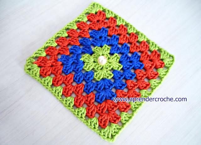 square inicio quadrado aprender croche loja curso de croche dvd