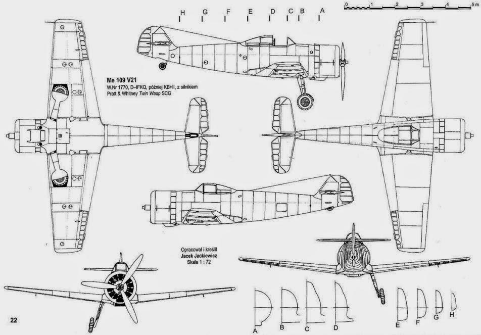 german aircraft of wwii  messerschmitt bf 109x