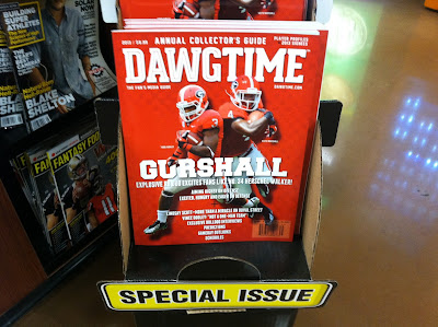 Gerorgia 2013 preview magazine call UGA's Gurley and Marshall the Gurshall name they don't like.