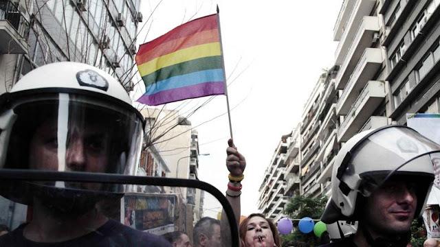 ΑΠΙΣΤΕΥΤΗ ΞΕΦΤΙΛΑ….εκπρόσωπος της Ελληνικής Αστυνομίας, στο …'gay parade' της Ολλανδίας με χρήματα του Ελληνικού Λαού