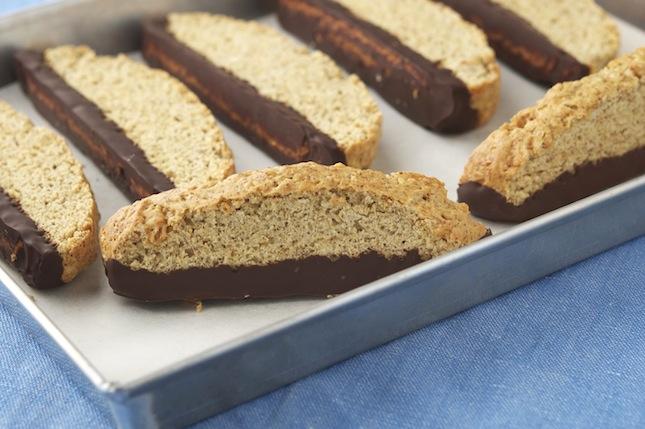Vegan Vanilla Biscotti