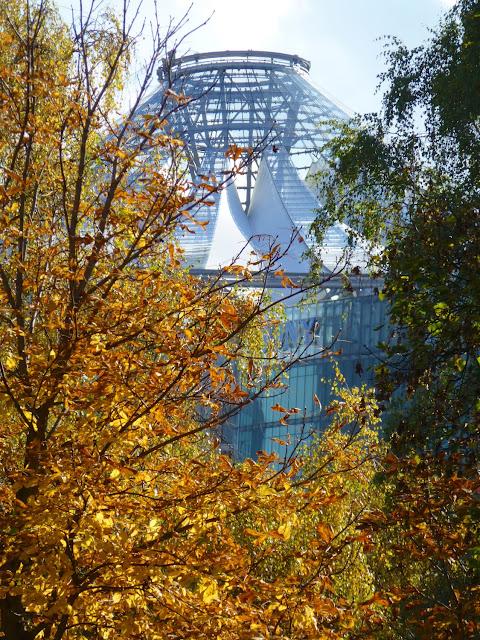 Sony Center desde Tiergarten
