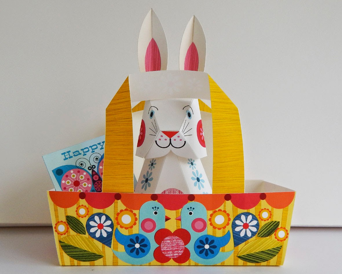 Easter paper craft ideas - Easter Paper Craft Tutorial