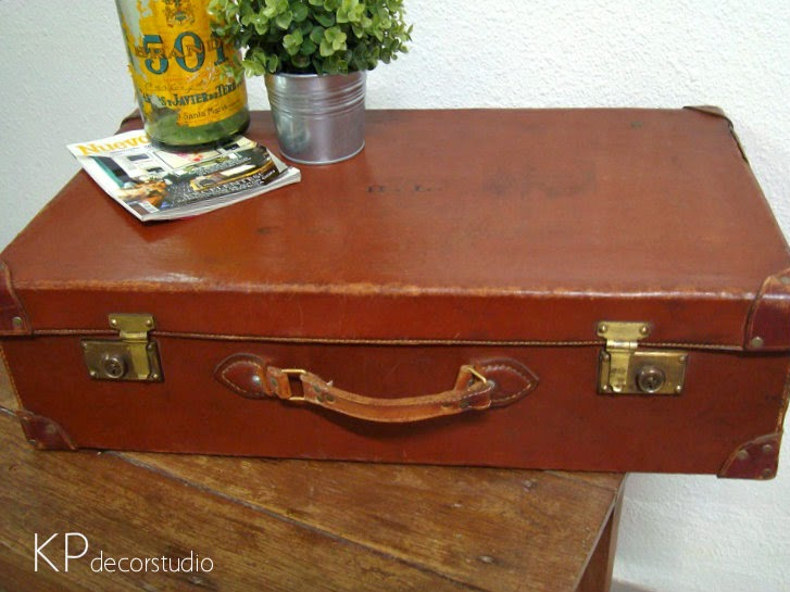 Maletas vintage de cuero en valencia