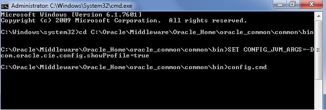 Create SOA 12c domain