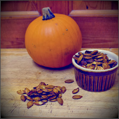cinnamon roast pumpkin seeds