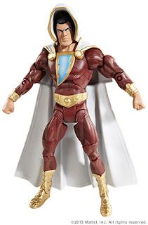Mattel DC Signature Colection Comic-Con SDCC 2013 Shazam! Figure