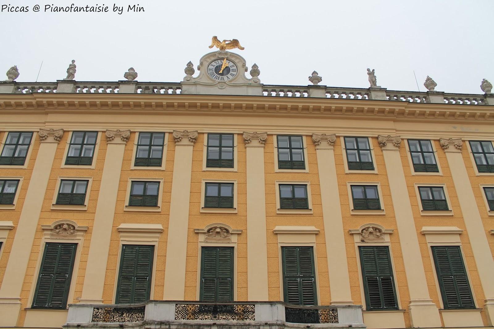 piccas@pianofantaisie by Min: Vienna Part 5: Schloss Schonbrunn
