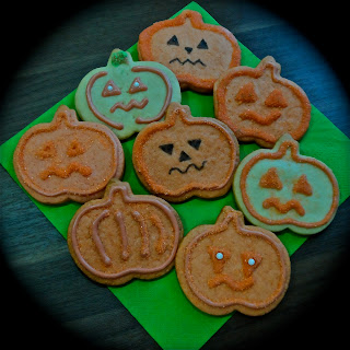 Galletas de Halloween Calabaza