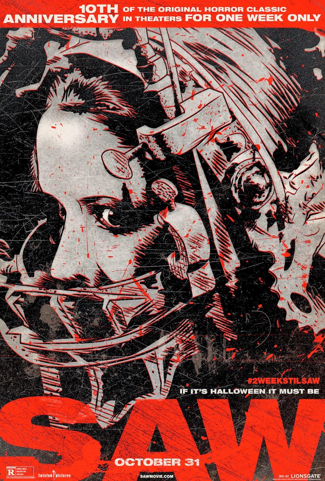 «Смотреть Ужасы Пила 1» — 2009