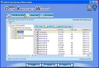 EASEUS Data Recovery Wizard Profesional