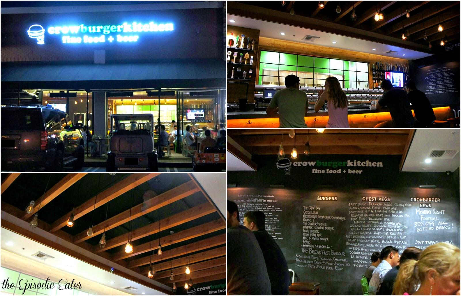 Crow Burger Kitchen (Newport Beach, CA) • The Episodic Eater