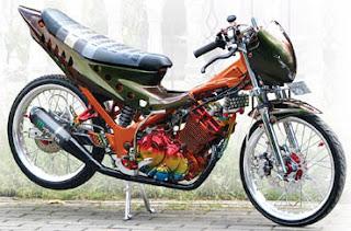 Foto Modif Satria 150 fu 2012