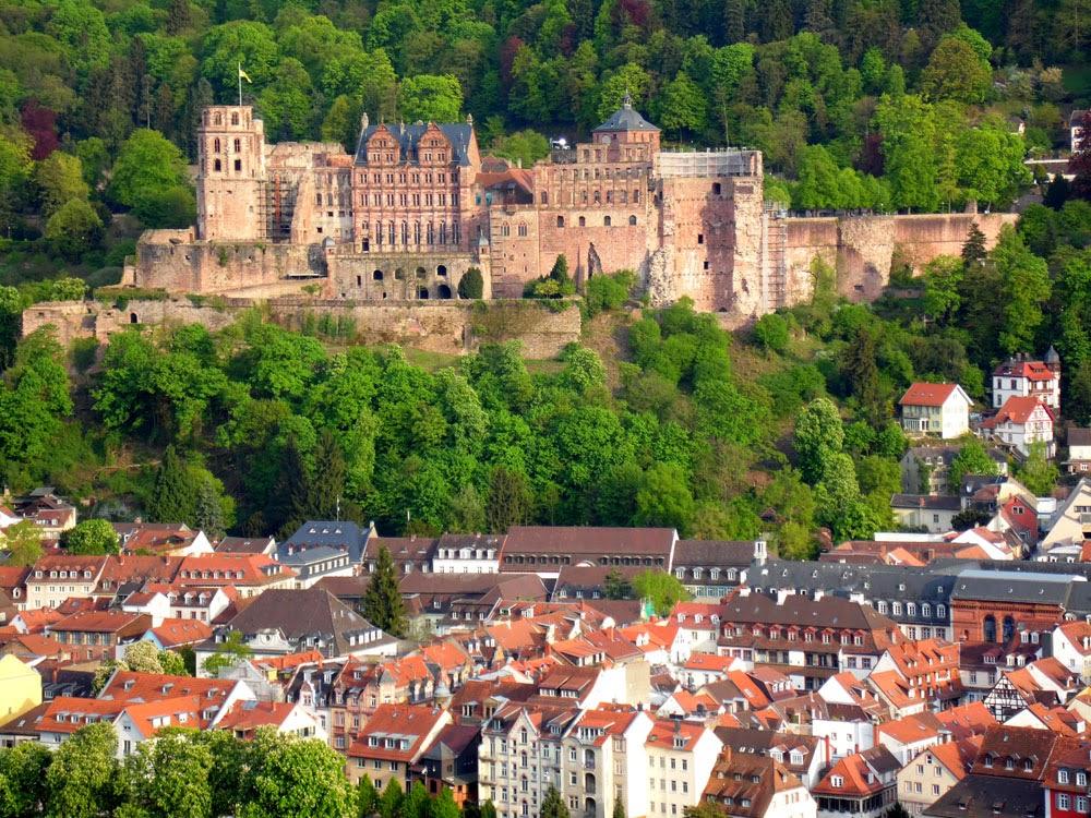 Heidelberg Castle, taken by Andie Gilmour