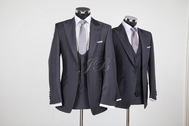 slim fitting lounge suit for weddings from jack bunneys