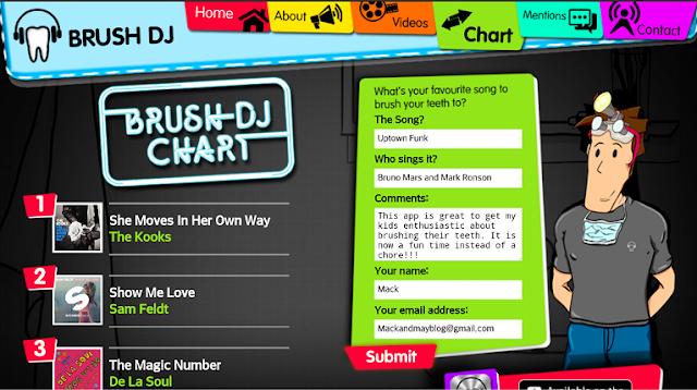 Brush DJ website