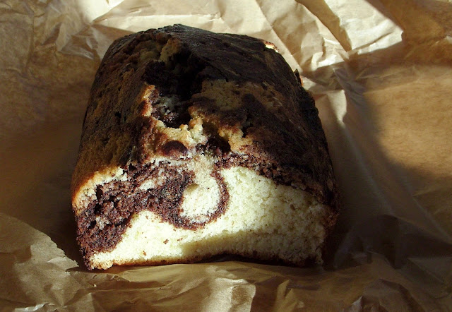 Finding the time - chocolate + almond marble cake © Feeding the Eye 2015