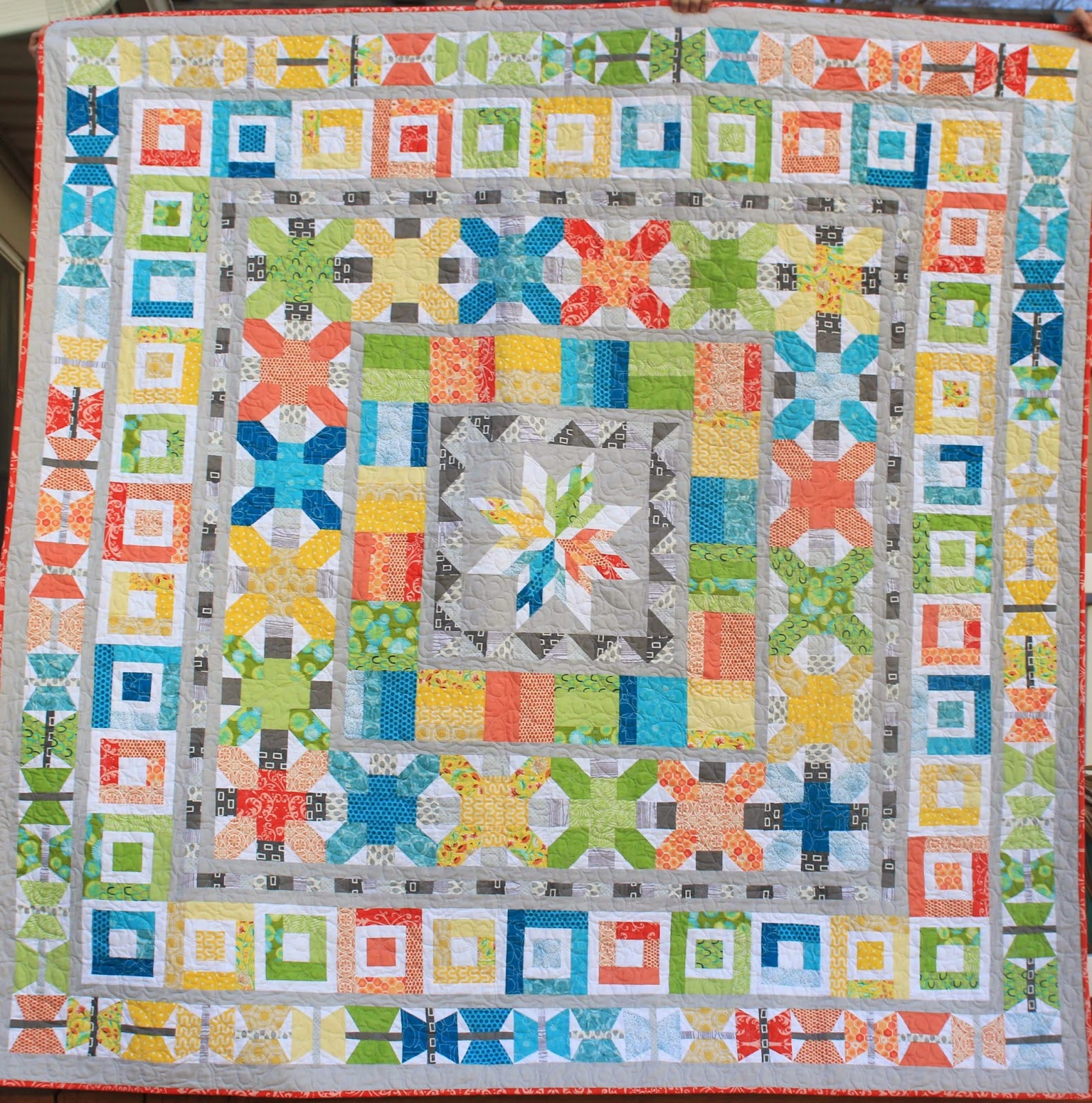 aviatrix medallion quilt