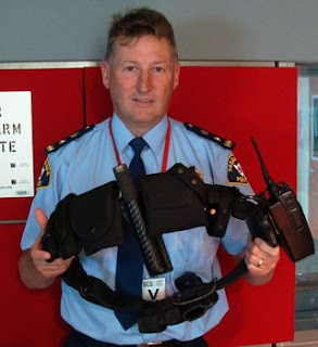 Police Belt Back Support