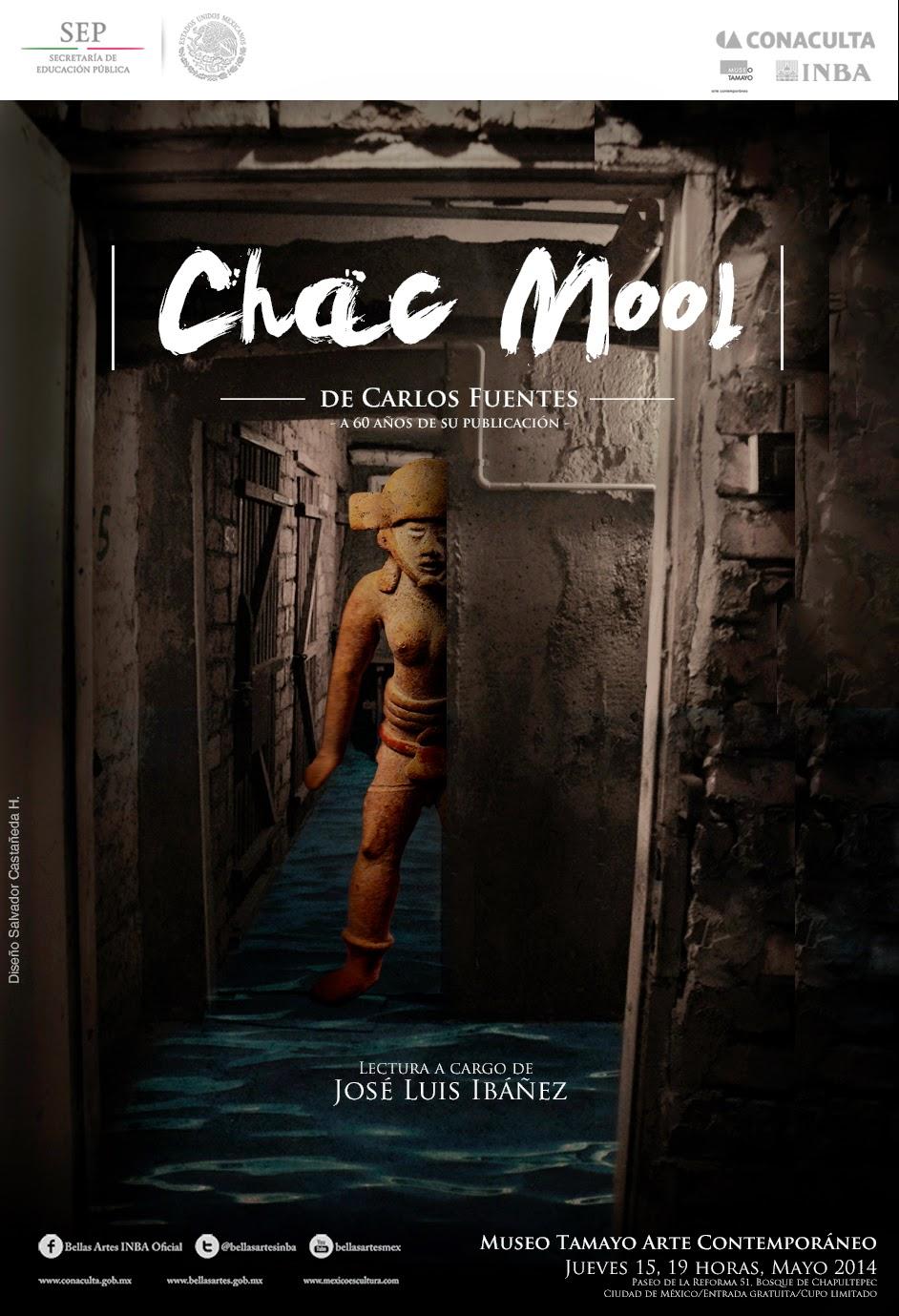 """Lectura homenaje por el 60 Aniversario del cuento """"Chac Mool"""" de Carlos Fuentes"""