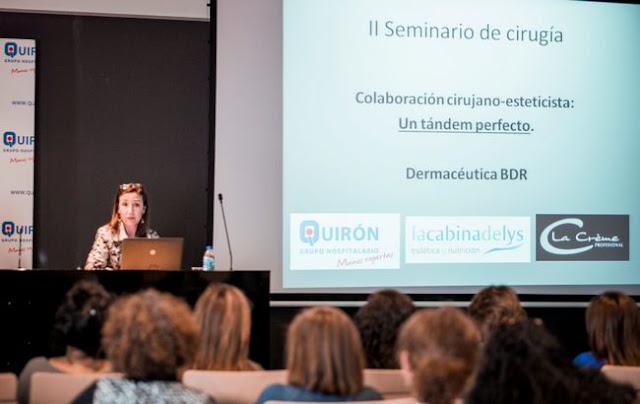II seminario de cirugía para esteticistas en el hospital Quirón Vizcaya