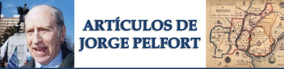 ARTÍCULOS DE JORGE PELFORT