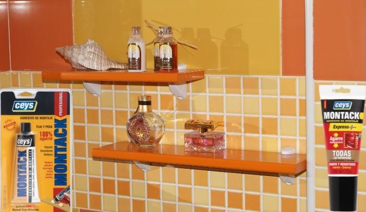 Colgar estantes sin taladrar un blog sobre bienes inmuebles - Como colocar azulejos en el bano ...