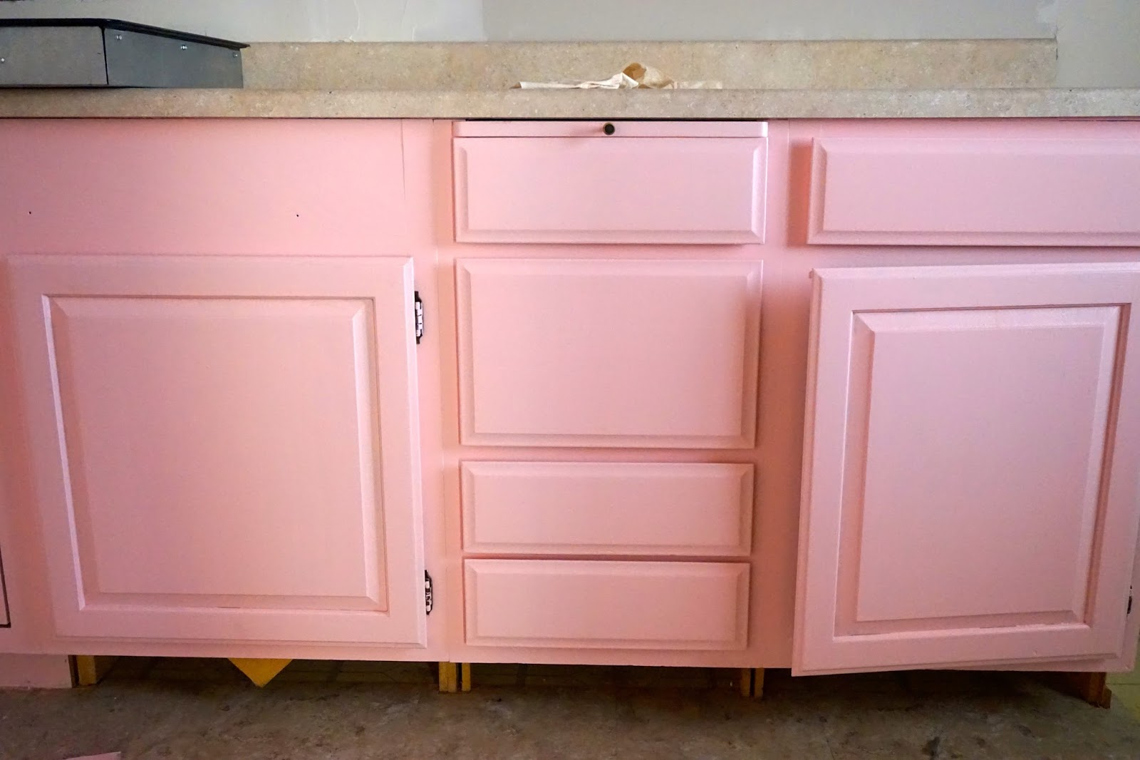 Light Pink Kitchen Jenny Lopez