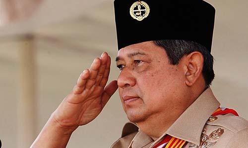 Foto SBY : Pramuka