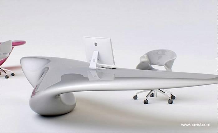 Arquitectura de casas escritorios para pc ultra modernos for Diseno escritorios modernos