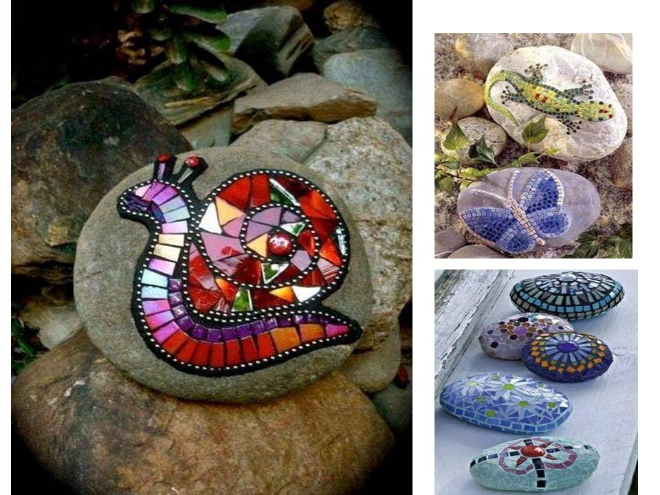 Drawing on the stones