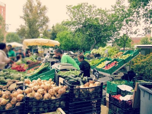 Parada del Mercado de Pagés