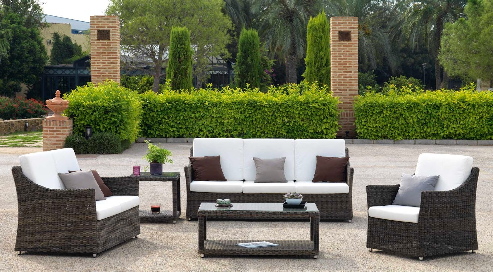 Blog de mbar muebles muebles de exterior for Muebles palets jardin exterior