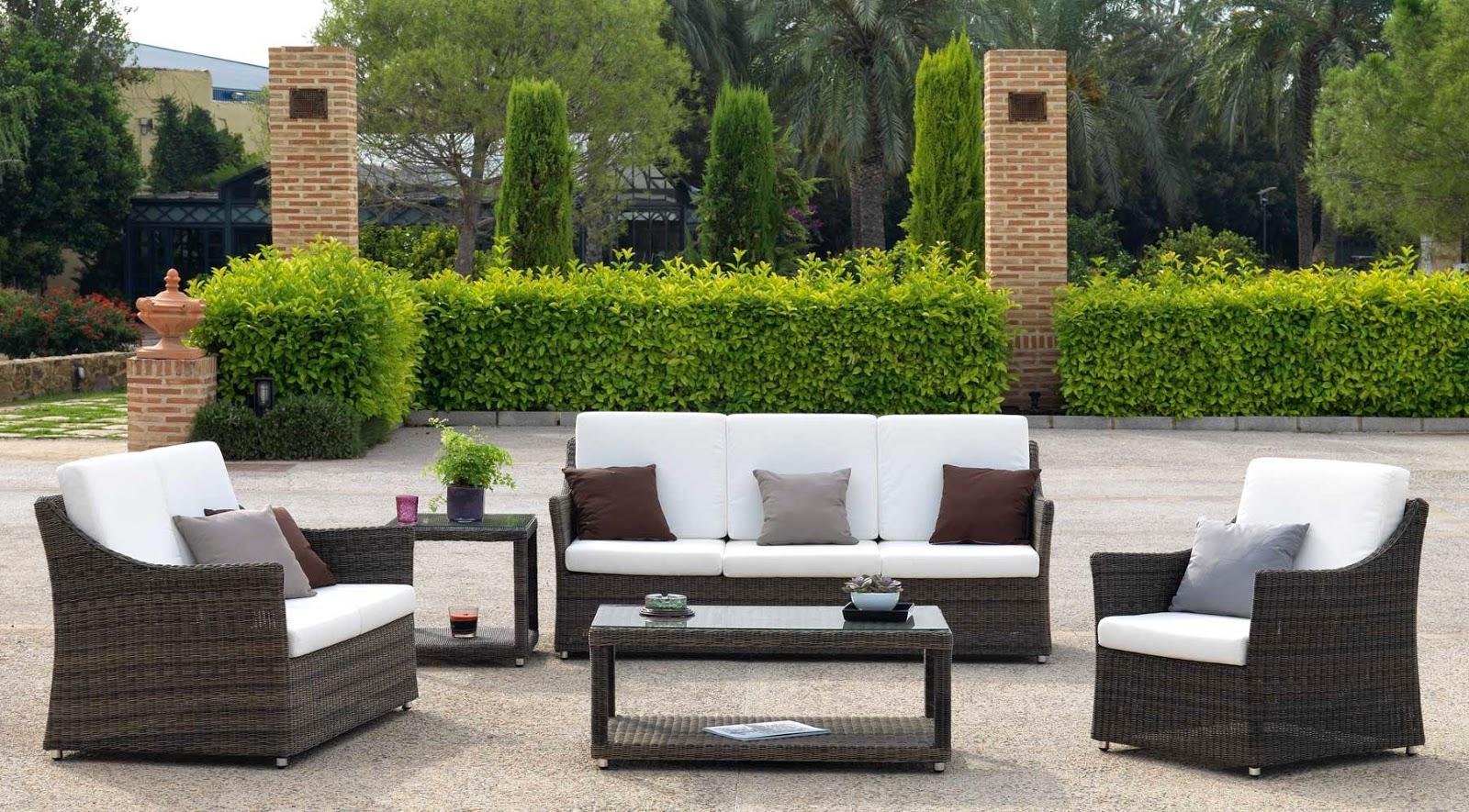 Blog de mbar muebles muebles de exterior for Muebles jardin exterior modernos