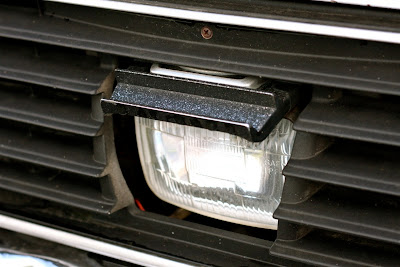 Subaru Cyclops headlight.