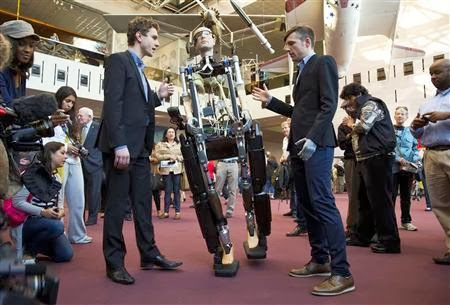 First Complete 'Bionic Man' Unveiled