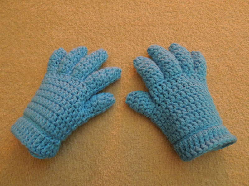 Happy Berry Crochet: Crochet Finger and Fingerless/Half Finger Glove ...