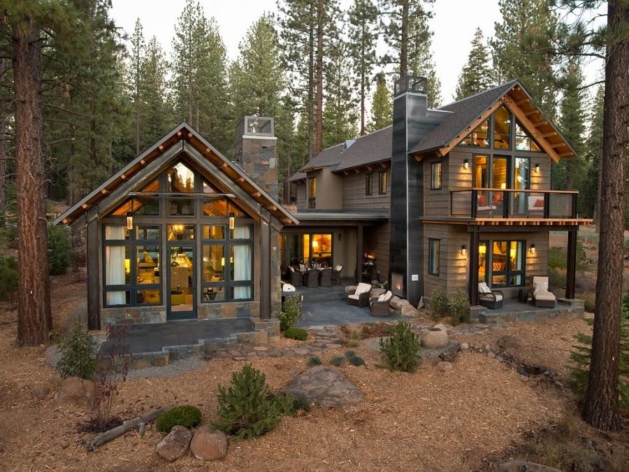 dom, wnętrza, wystrój wnętrz, dom drewniany, duże okna, styl klasyczny