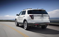 Ford Explorer Sport (2013) Rear Side