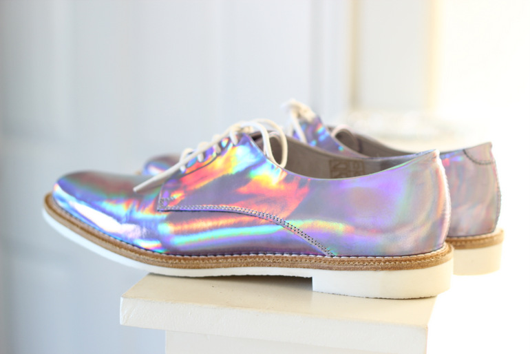 Holographic Miista Shoes A Mused