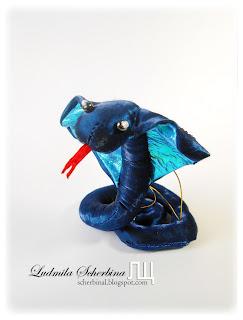 мягкая игрушка кобра, мастер-класс. Китайский гороскоп